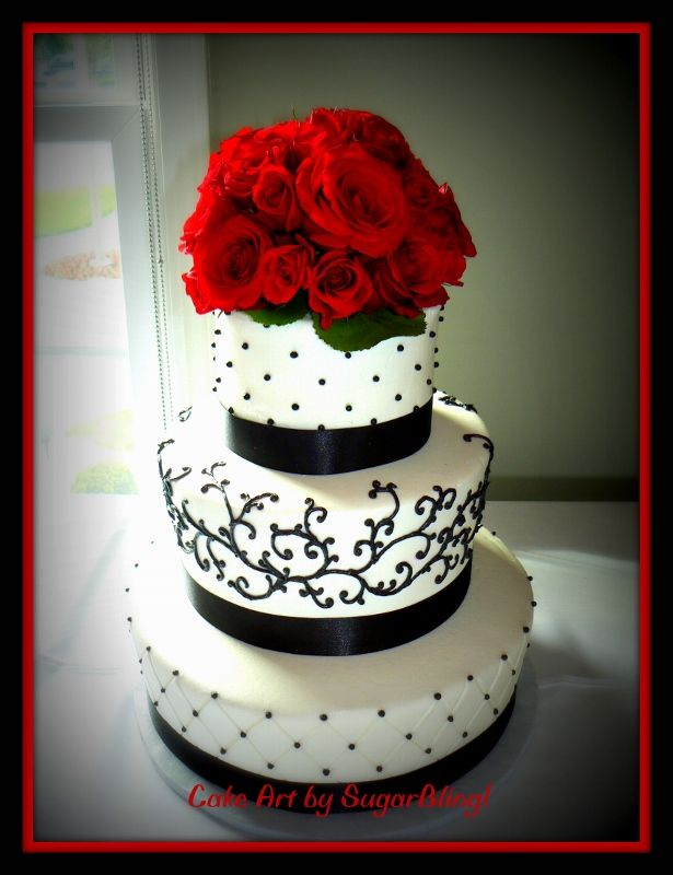This cake is frosted in buttercream and piped with buttercream