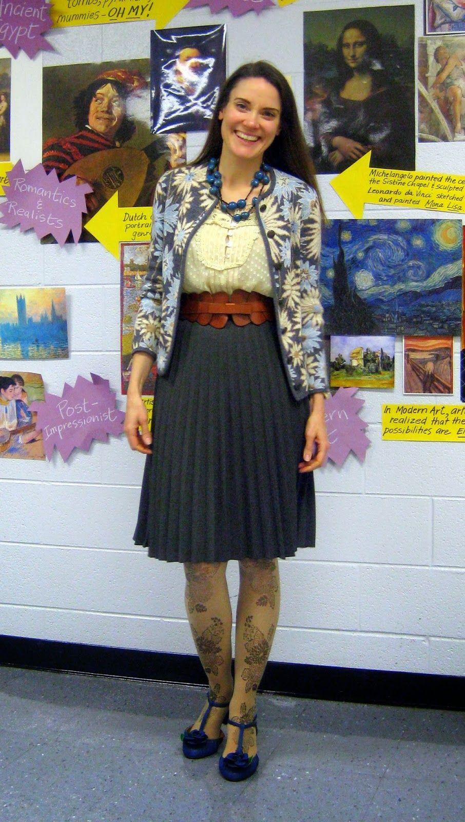 What the Art Teachers Wore//Back to Art Teacherin\' Contest ...