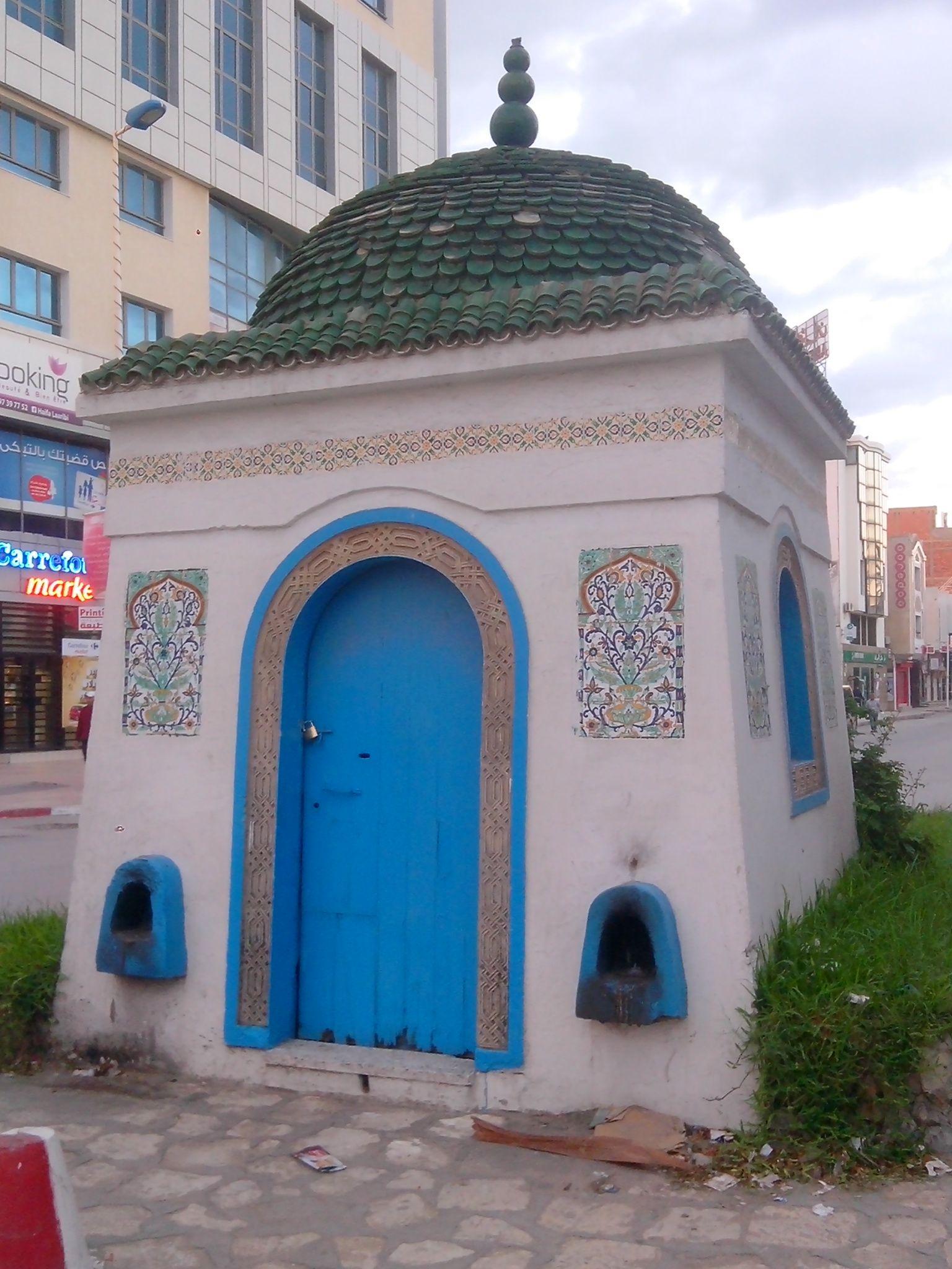 Le Mausolée Sidi Maâouia à Nabeul