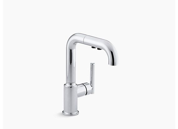 pull out shop all kitchen faucets kohler com kohler kitchen rh pinterest com