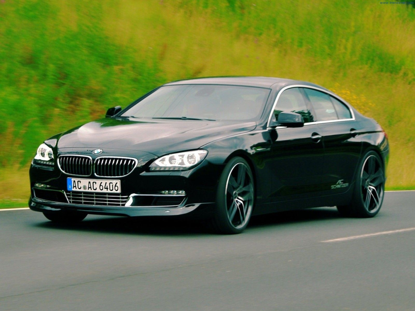 2012 bmw 6 series 650i coupe black sapphire metallic color black - Ac Schnitzer Officially Introduced Their Latest Tuning Program For Bmw Gran Coupe And Of Course Presented In Black Exterior Color That Characterized This