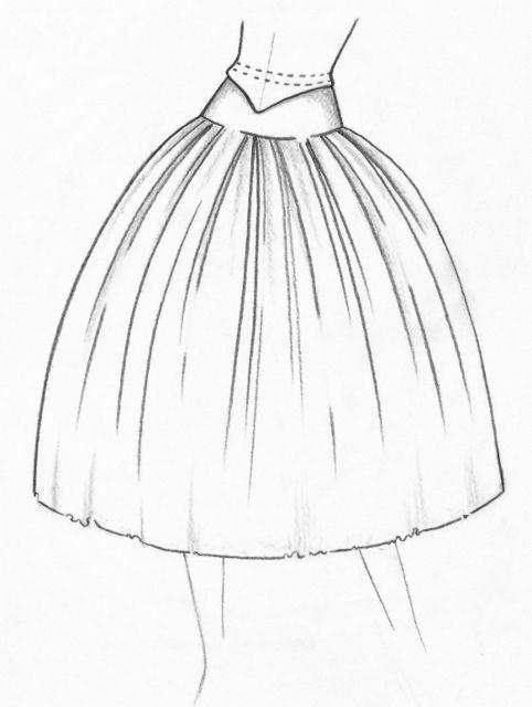 romantic Tutu neo classical sketch 1 (482x640) | Costume ...