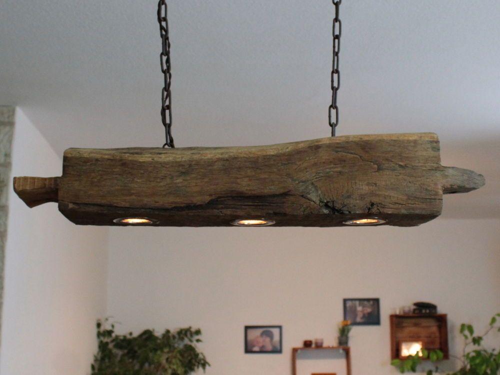 Hängelampe, Deckenlampe, Lampe, rustikal, Holz, Holzbalken, LED - faszinierende vintage schlafzimmermobel romantisch und sus