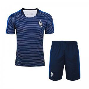 competitive price d1aba 37ba3 France Soccer Team 2016 Dark Blue Soccer Replica Training ...