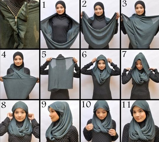 Tutorial Hijab Pashmina Untuk Olahraga Blog Lif Co Id