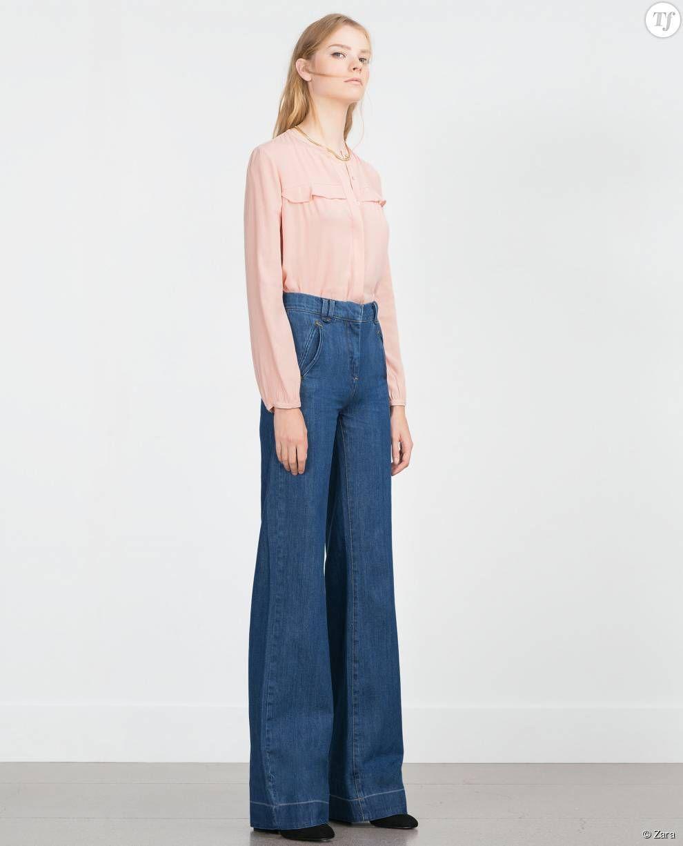 jean troue femme zara blog photo populaire de v tements en jeans. Black Bedroom Furniture Sets. Home Design Ideas