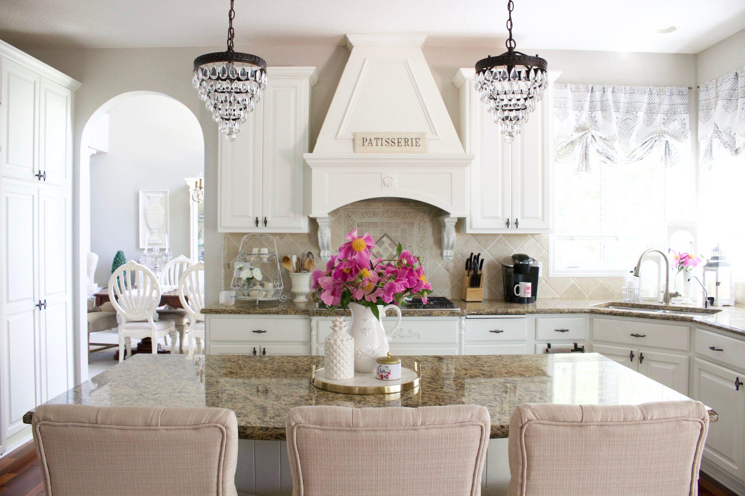 Kim\'s Bright White Kitchen Remodel   Kitchens, White cabinets and ...