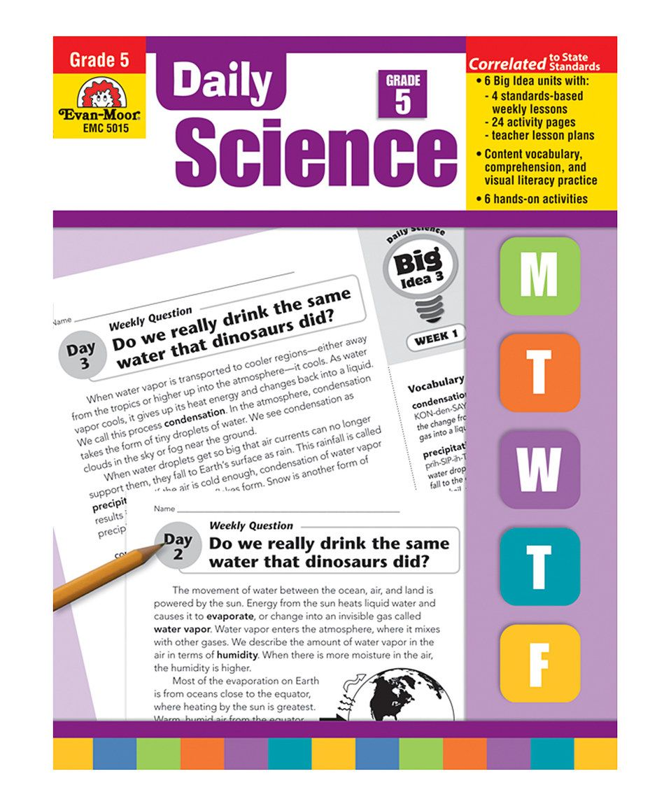 Love this Daily Science Grade 5 Paperback by Evan-Moor Educational Publishers on #zulily! #zulilyfinds