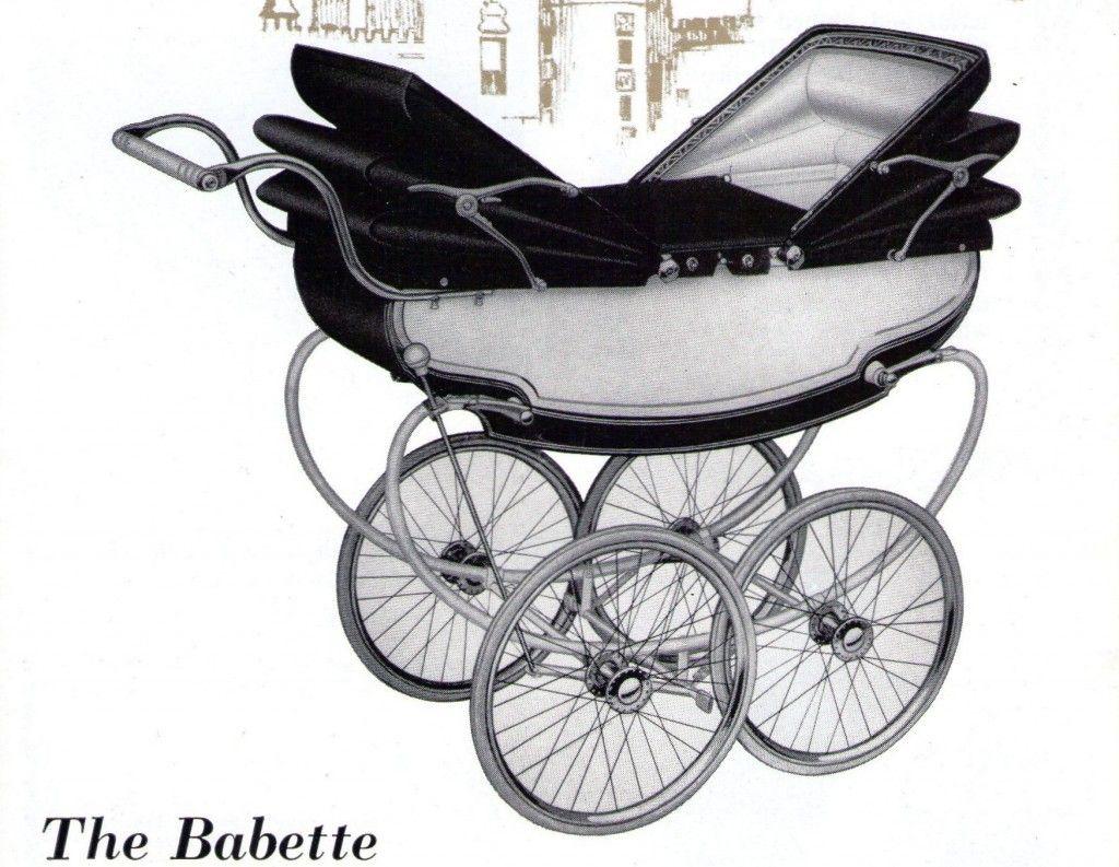 Marmet Vintage pram, Twin pram, Baby prams