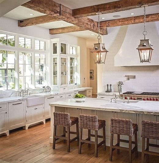 Rustic Kitchen Beautiful Rustic Kitchen Design #Rustic #Kitchen