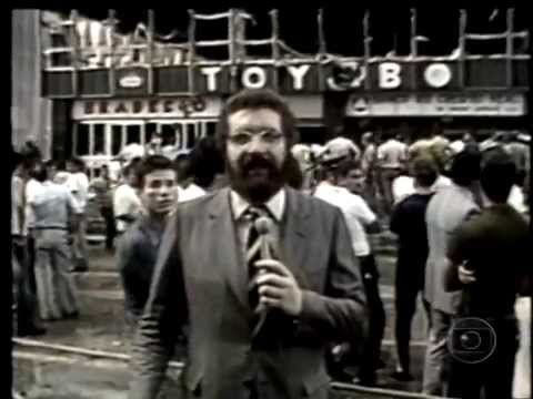 Incêndio no edifício Grande Avenida, na Avenida Paulista (1981)