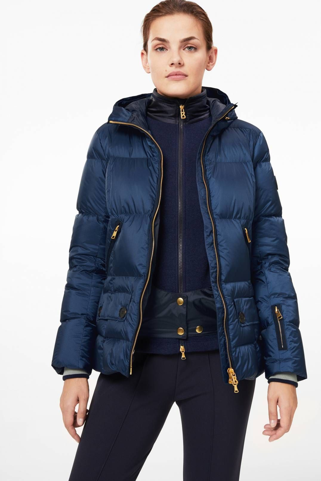 Miri Down ski jacket in Blue for Women  ffb505341
