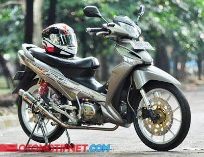 Cara Modifikasi Motor Supra X 125 Simple Honda Motorcycle