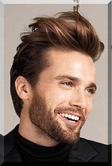 frisuren männer | Herrenfrisuren, Frisuren, Braunes ...