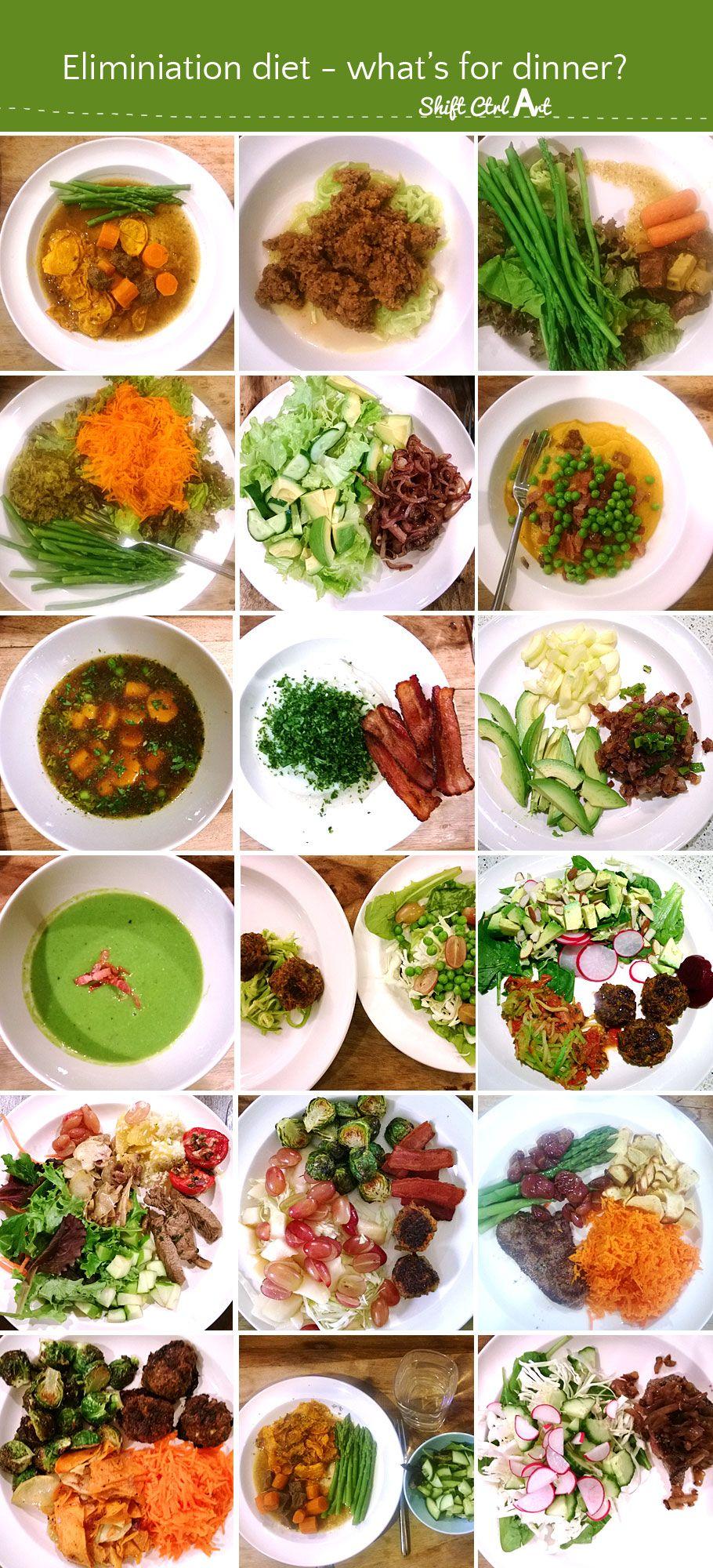 Elimination diet - what do I eat?  Elimination diet recipes