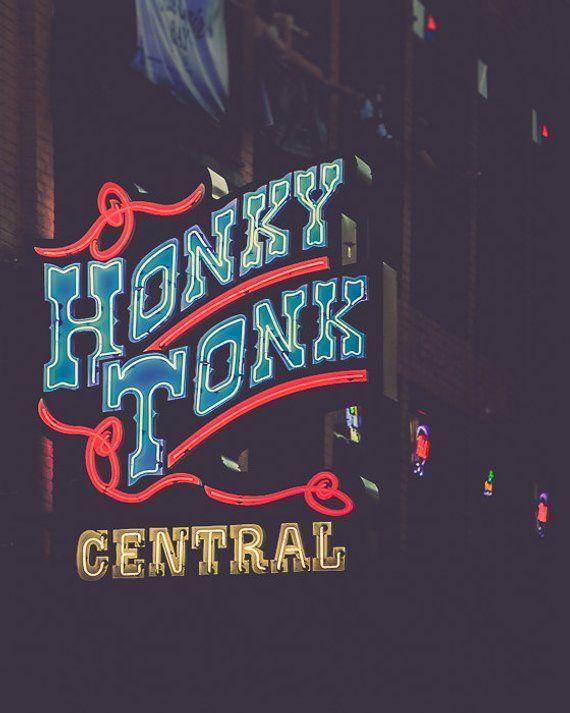 Nashville Art, Photography, Nashville Sign, Neon Sign, Country Music Wall Decor, Nashville Sign, Dow
