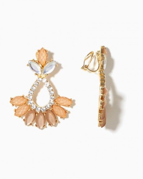 Remy Clip-On Earrings   Charming Charlie