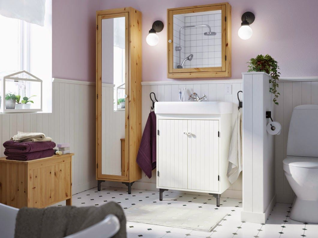 Lambris Pvc Salle De Bain Bricoman ~ Ikea Bathroom My Future Home Pinterest Ikea Bathroom And Room