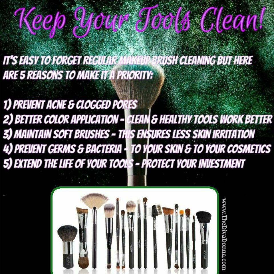 Younique tools, clean your makeup brushes why it's