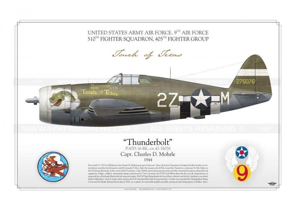 "P-47D ""Thunderbolt"" 'Touch of Texas' GM-54"