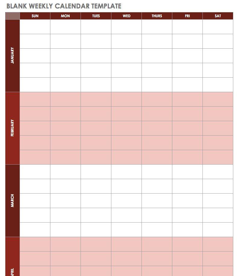 Social Media Marketing Calendar Template For Excel Free Download