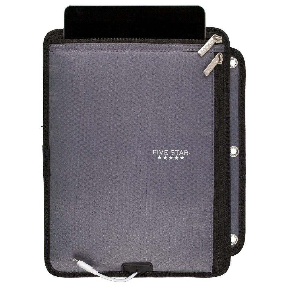 Five Star Tablet Sleeve, Binder-Ready