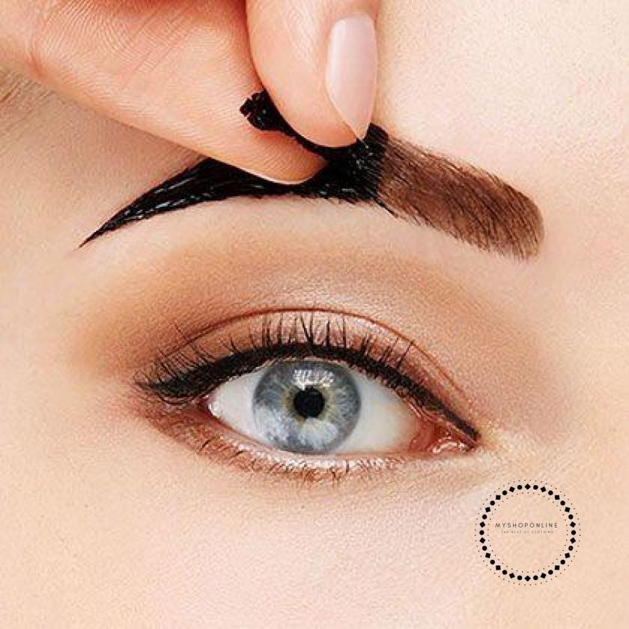 Set 2 pcs Beauty Peeloff Eye Brow Tattoo + Eyebrow Pencil