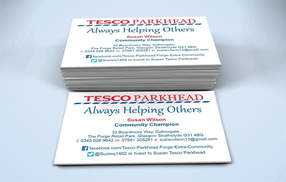 Pretty Tesco Business Cards Pictures Inspiration - Business Card ...