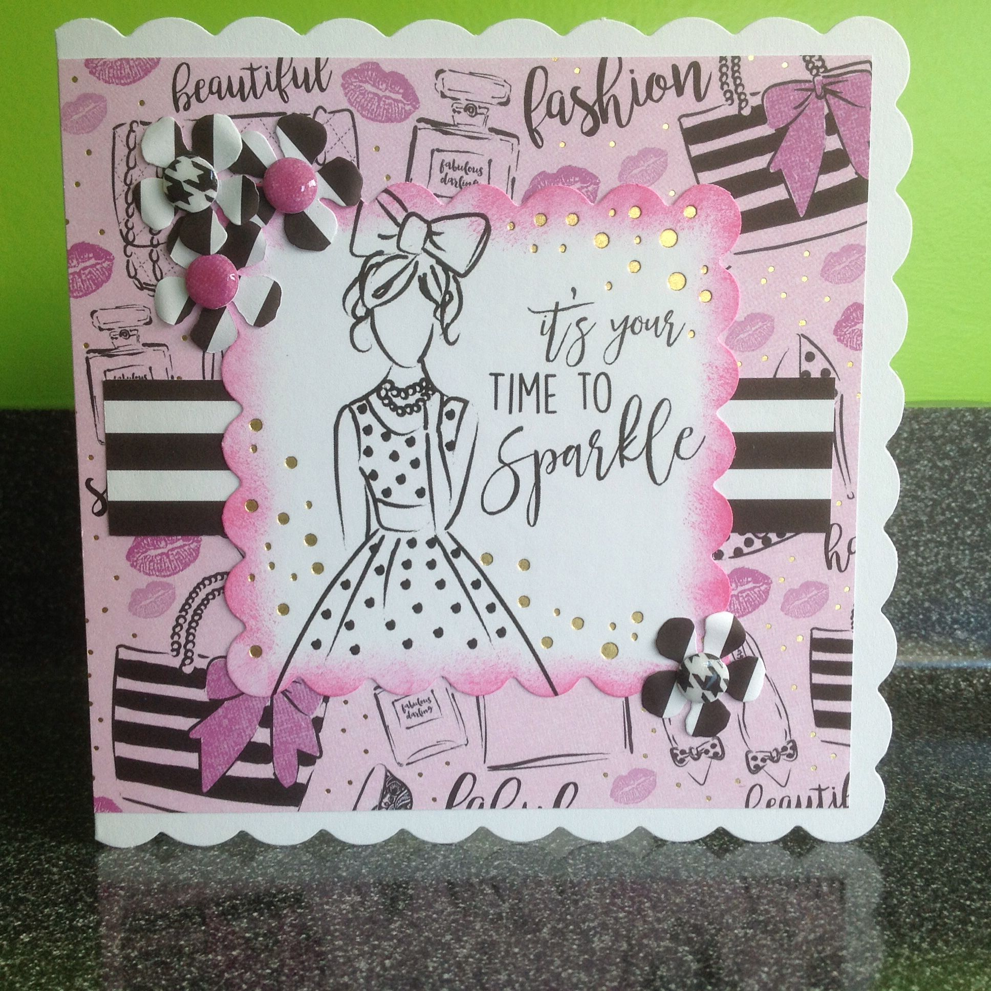 Craftwork cards fabulous fashionista craftwork cards fabulous