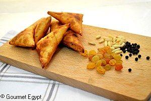 Gourmet Minced Meat & Pine Nuts Sambousak   Ramadan