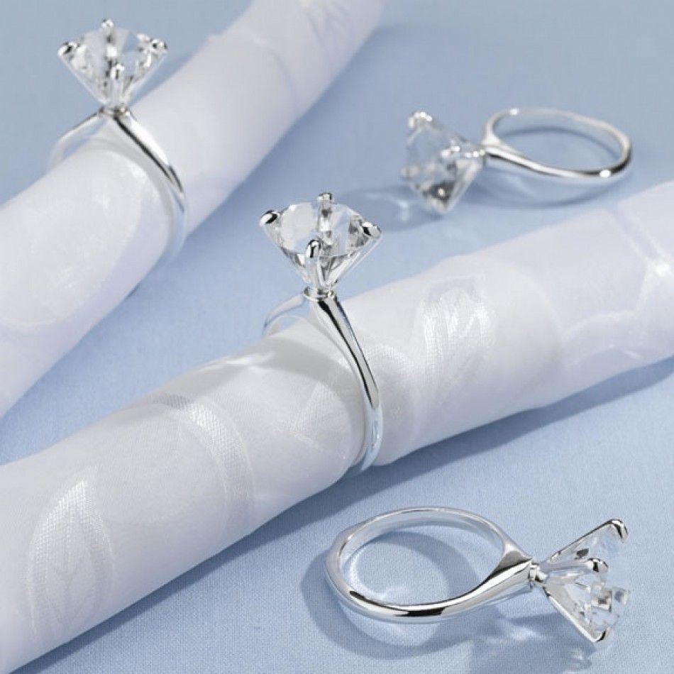 napkin ring idea for engagement party Love Marriage Pinterest