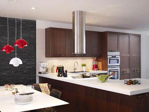 Interior Design Für Die Kleine Küche   Wohnzimmer Ideen
