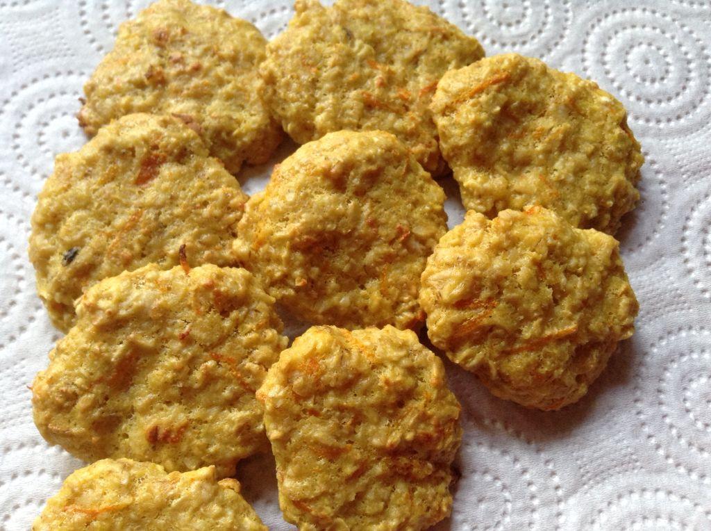 Slimming syn free orange oat cookies