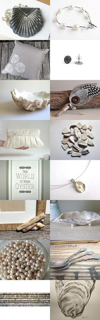 The world is your oyster by Jasmine Avery on Etsy--Pinned with TreasuryPin.com