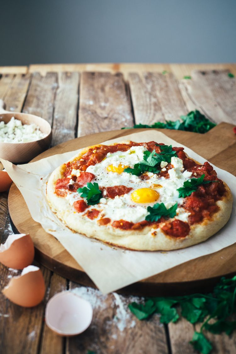 shakshuka pizza | Antojo, Comidas ricas y Pizzas