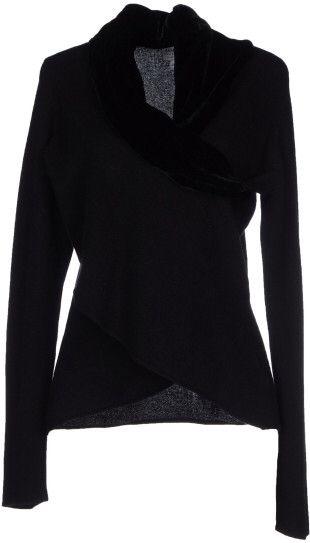 Armani Jumper in Black #black #sweater #style