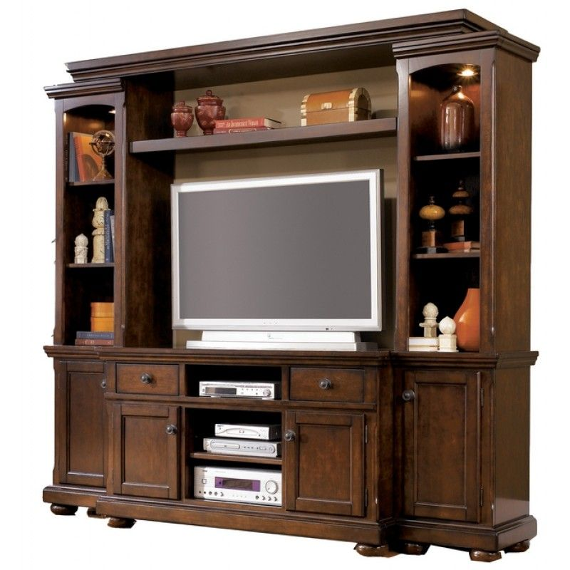 Porter Entertainment Wall Unit By