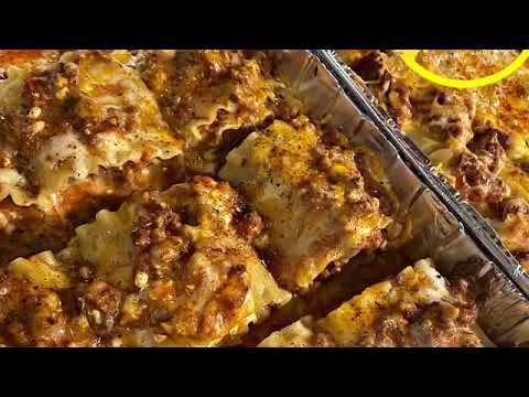 How To: Buttas Homecooking | Lasagna  Rolls - YouTube
