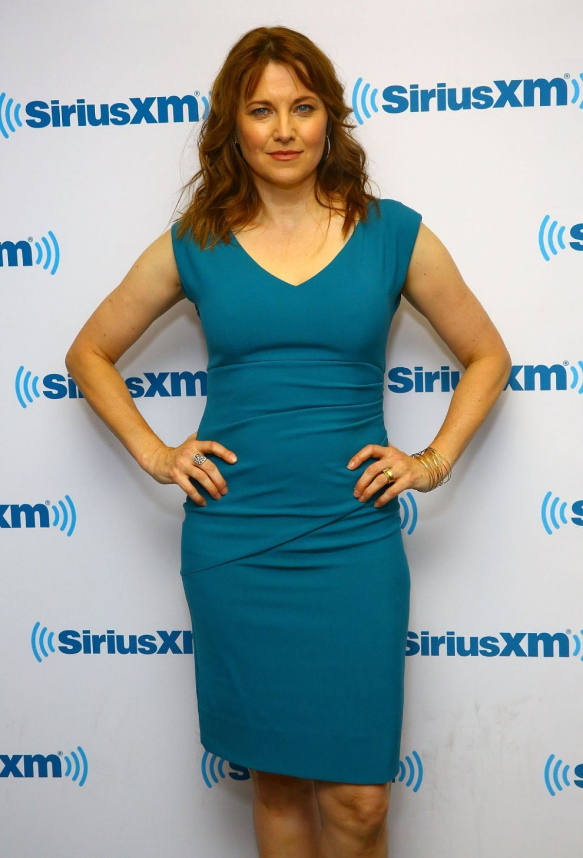 Lucy Lawless 2015 | LUCY LAWLESS at SiriusXM Studios in New York 10/26/2015
