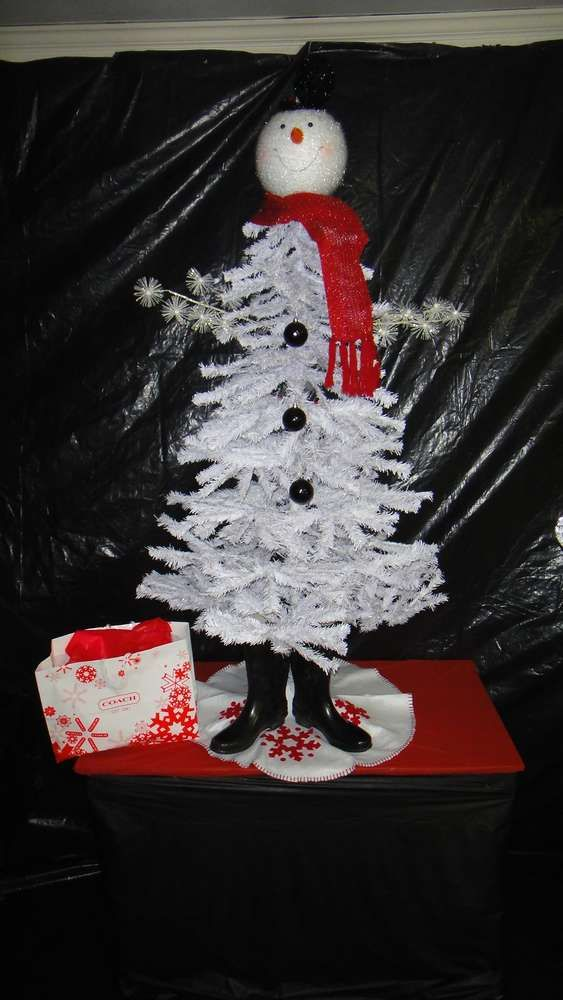 Red, White  Black Christmas/Holiday Party Ideas Christmas holidays