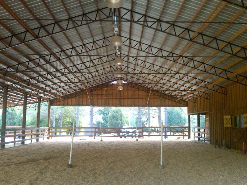 Gallery of Bailey Barns in 2019 | Pole barn trusses, Barn ...