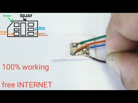 Sim Card Hack Free Service Youtube Tech Hacks Latest Technology Gadgets Diy Tech