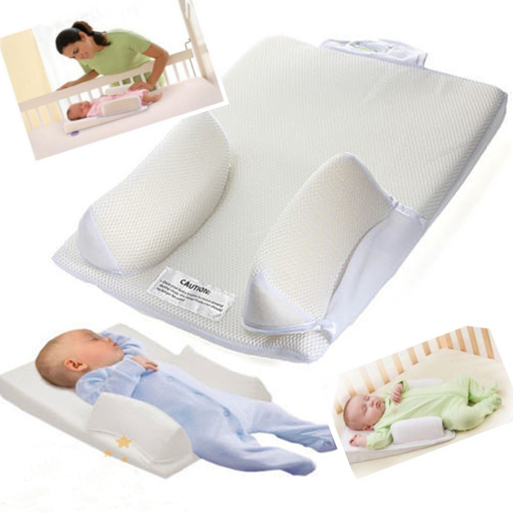 Crunch Baby Infant Anti Roll Pillow