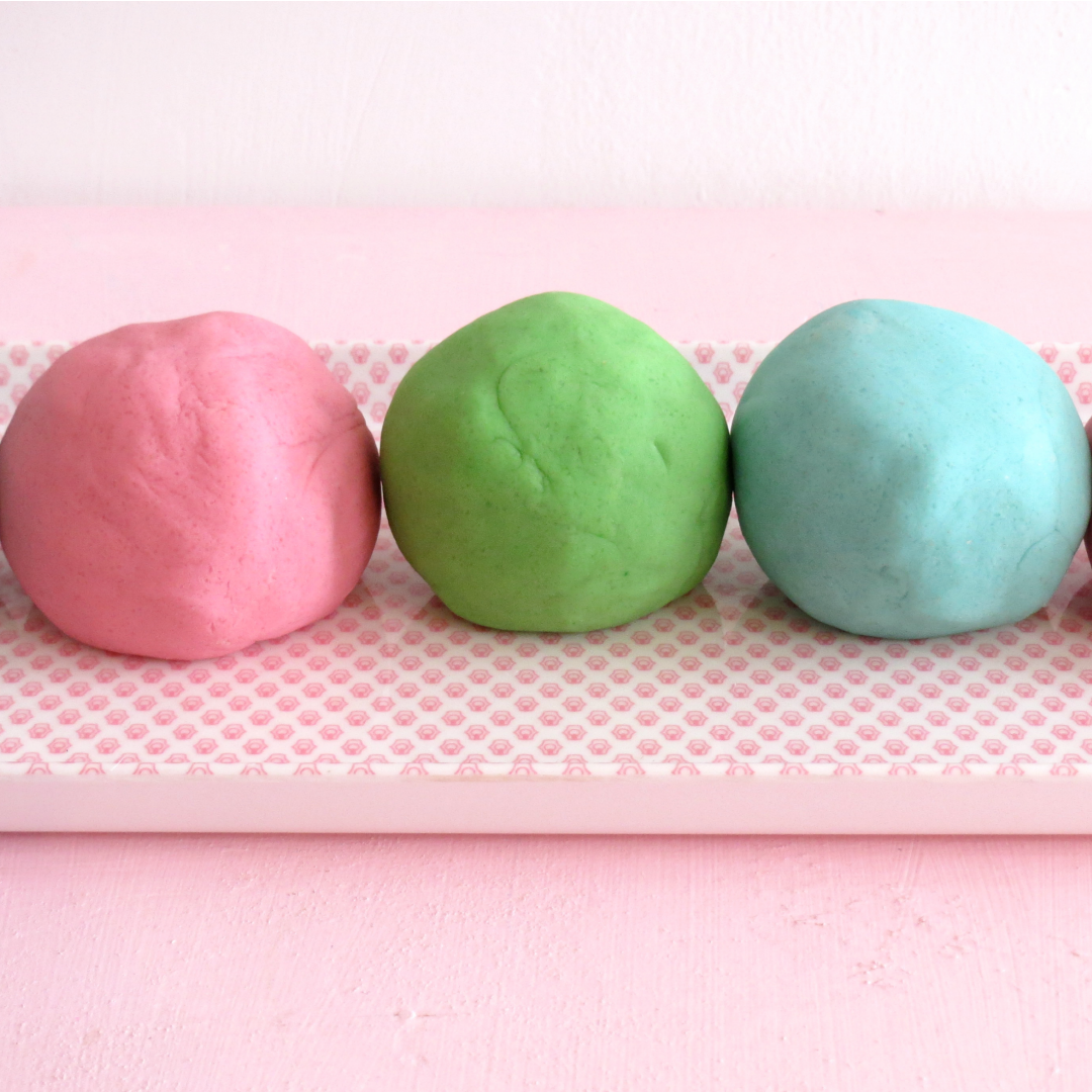 NoCook Playdough Recipe Healthy baking treats