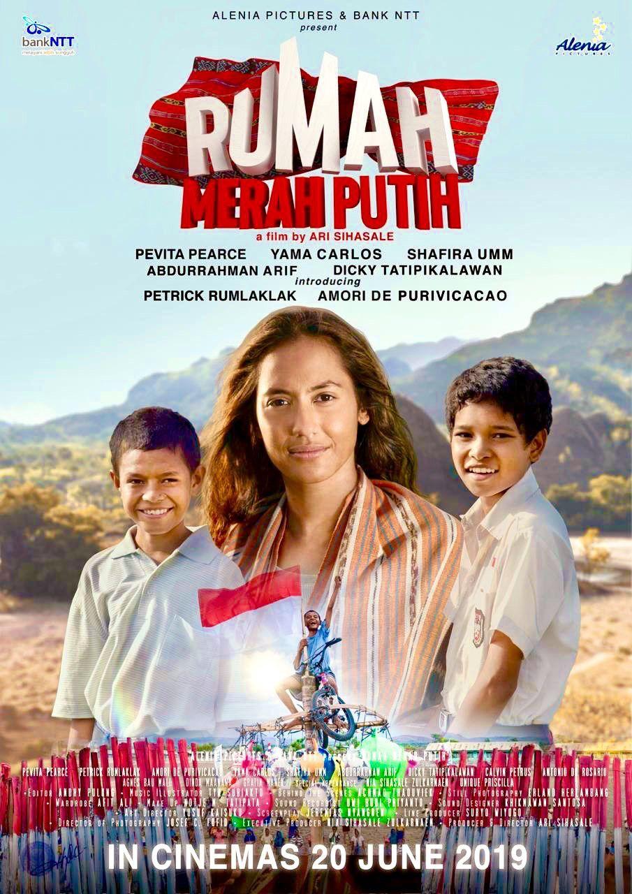 Rumah Merah Putih | Poster film, Film, Poster
