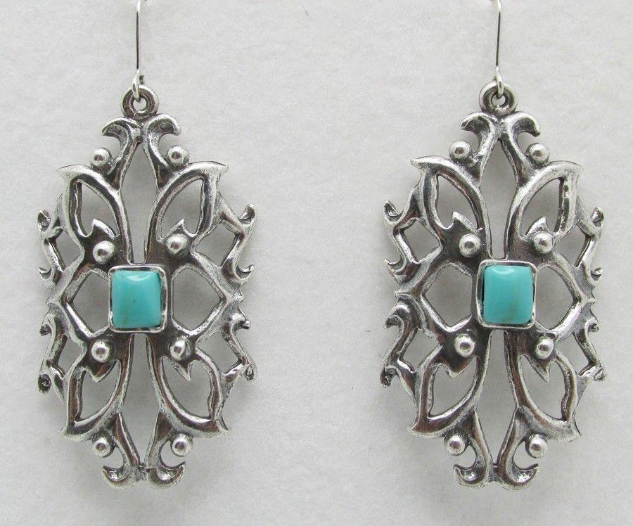 Gayle Earrings - Turquoise