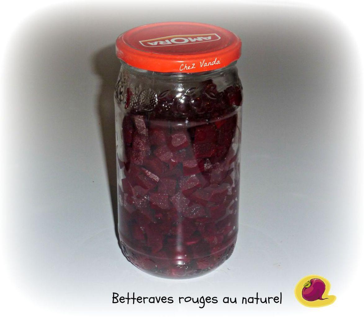 Conserves de betteraves rouges au naturel trucs cuisine pinterest betterave en conserve - Cuisiner des betteraves rouges ...