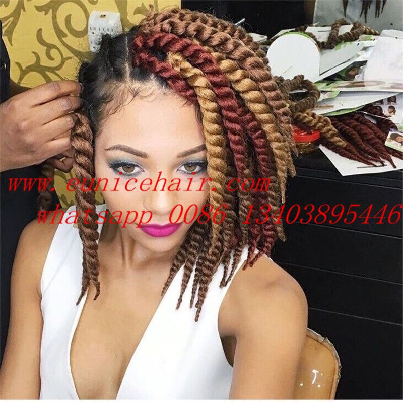 Havana Mambo Twist Crochet Pretwist Hair Extension Havana Twist