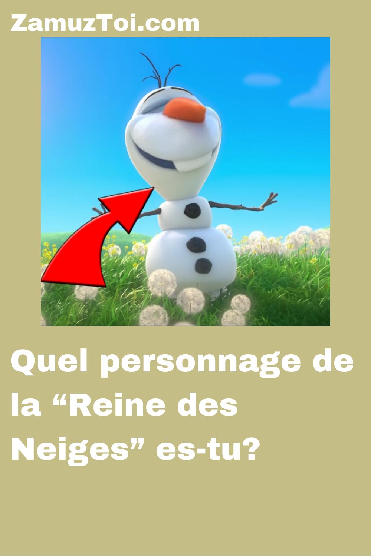 """Quiz Quel Animal Es Tu : animal, Personnage, """"Reine, Neiges"""", Es-tu?, Reine, Neiges,, Quiz,"""