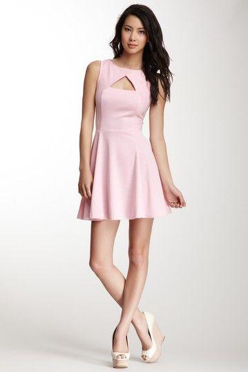 BB Dakota Diella Cutout Stripe Dress by Easy Breezy Dresses on @HauteLook